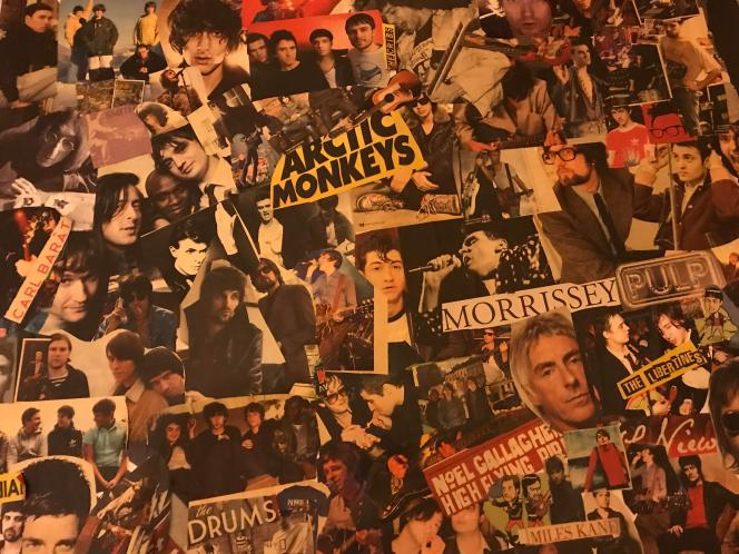 NME Magazine Band Collage