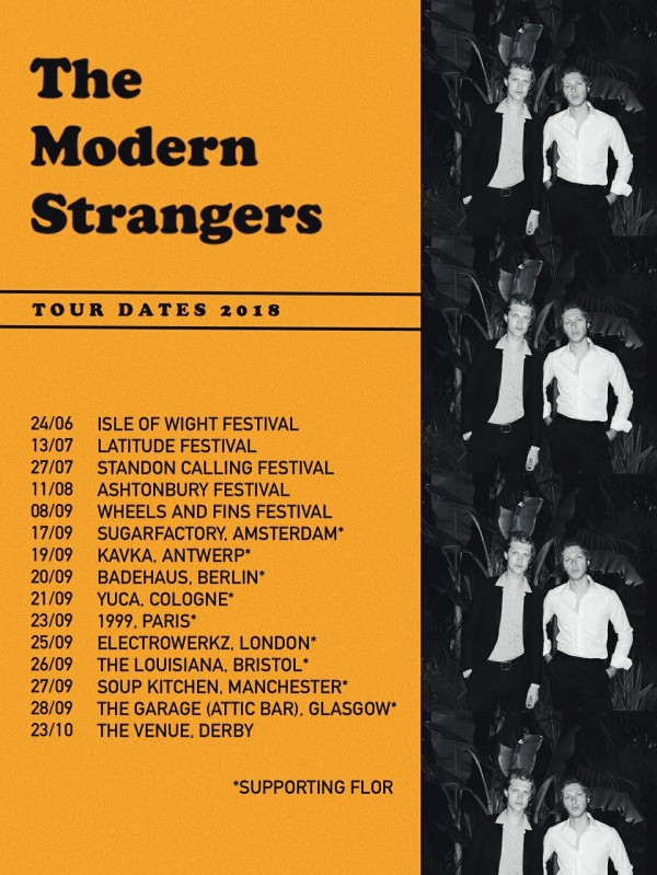 The Modern Strangers tour