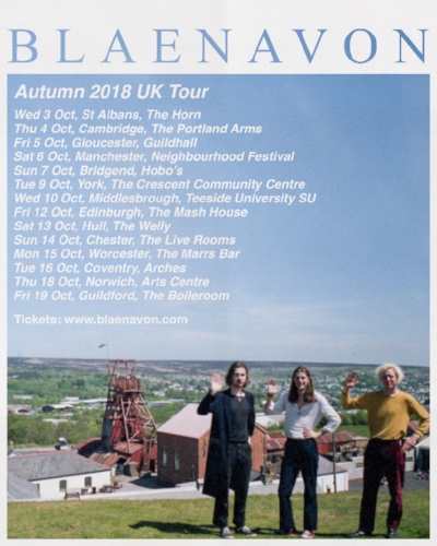 Blaenavon UK Tour