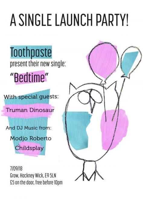 Toothpaste Single Launch Party